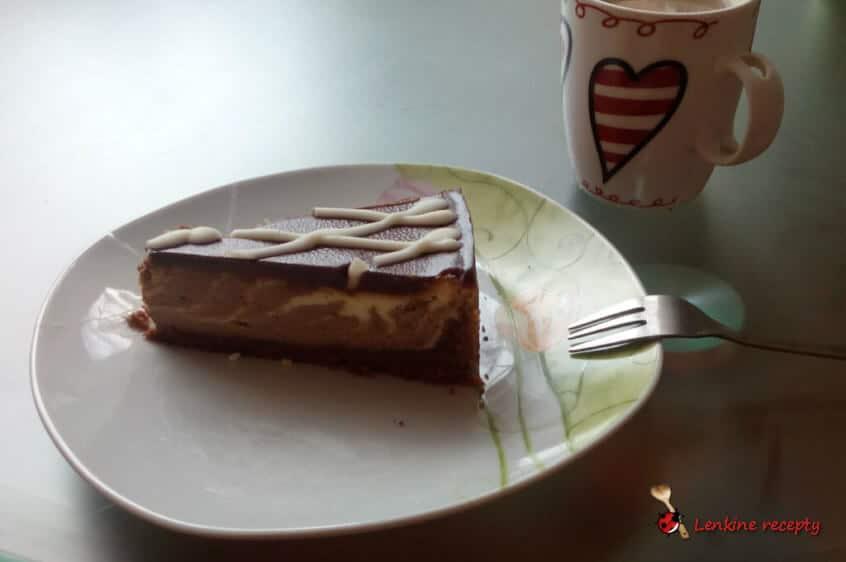 úžasný zebrový cheesecake