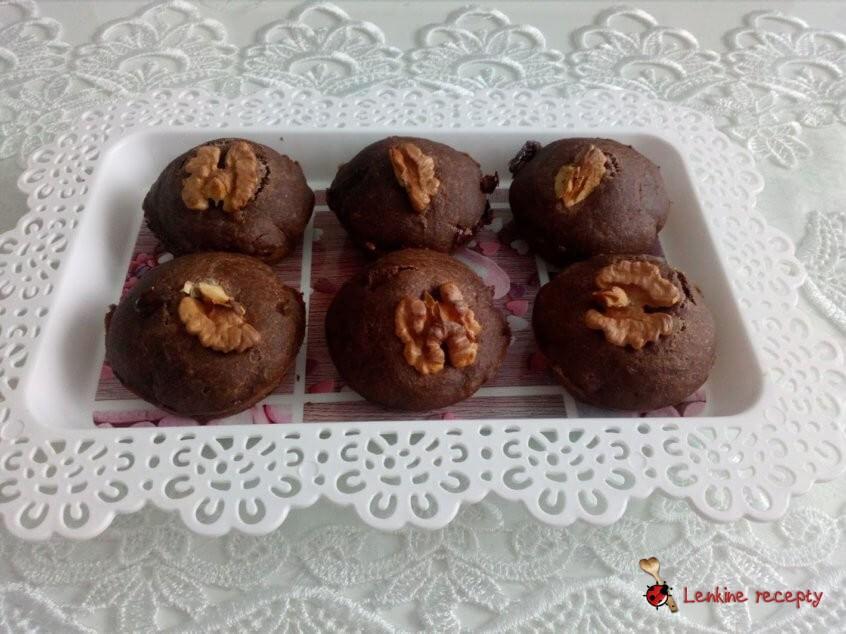 Kakaové muffiny bez vajec
